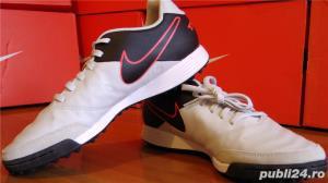 Ghete fotbal sintetic NOI Nike Tiempo marimea 41 piele naturala - imagine 1