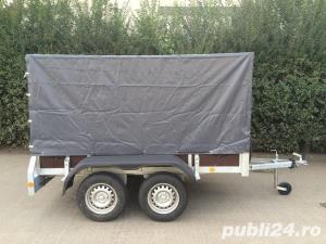 Inchiriez remorca auto 750kg /cu doua punti - imagine 2