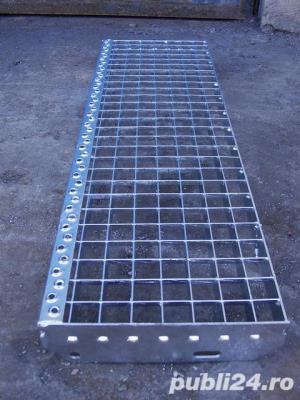 Trepte Metalice zincate Sp, 760x220,25x3 - imagine 6