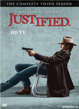 Justified /Lege si dreptate  2010 4 sezoane DVD - imagine 2