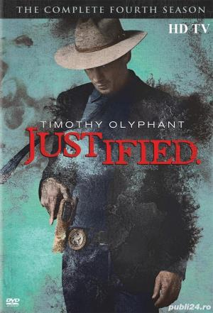 Justified /Lege si dreptate  2010 4 sezoane DVD - imagine 1