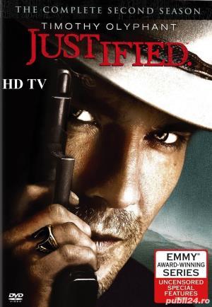 Justified /Lege si dreptate  2010 4 sezoane DVD - imagine 3