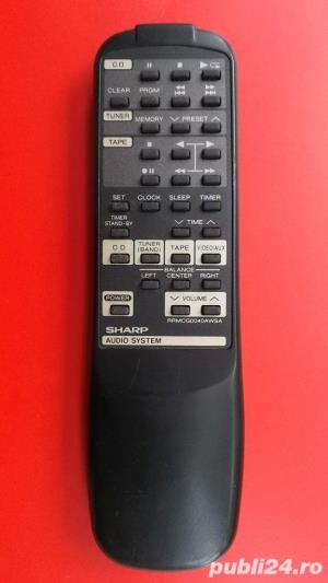 Telecomanda SHARP diverse modele pt.combina audio,sisteme audio - imagine 5