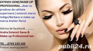 Servicii Profesionale de Make-up  &  Extensii GENE 1-3 D, 4-7 D, 7-12D  NUMAI  cu Produse Profi - imagine 2