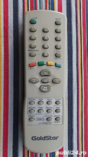 Telecomanda DAEWOO GOLDSTAR LG Golden Eye tv dvd video audio - imagine 5