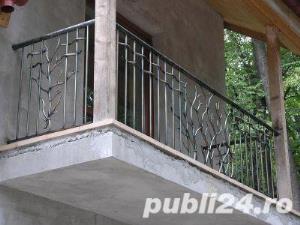 balustrade, porti, garduri fier forjat - imagine 2