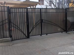 balustrade, porti, garduri fier forjat - imagine 7