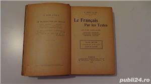Le Francais par les Textes,Victor Bouillot 1911-1913  - imagine 2