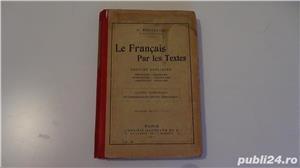 Le Francais par les Textes,Victor Bouillot 1911-1913  - imagine 10