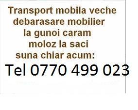 Transport marfa timisoara -mutari mobila- electrocasnice - bagaje -relocari.debarasari ! ridic moloz - imagine 2