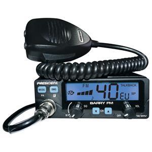 Pachet statie President Barry 4-20W si antena SIRIO ML145 cu cablu (sau magnet) - imagine 2