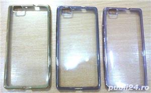 Husa Huawei P8 Lite carte p8 lite silicon p8 lite folie sticla  - imagine 4