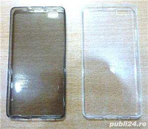 Husa Huawei P8 Lite carte p8 lite silicon p8 lite folie sticla  - imagine 6