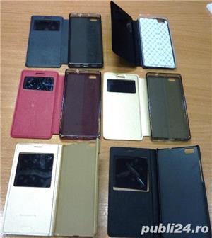 Husa Huawei P8 Lite carte p8 lite silicon p8 lite folie sticla  - imagine 3