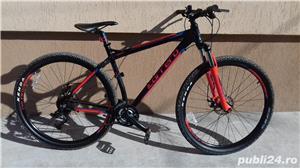 Mountain bike 29 Carrera Sulcata aluminiu 24 viteze alarma - imagine 2