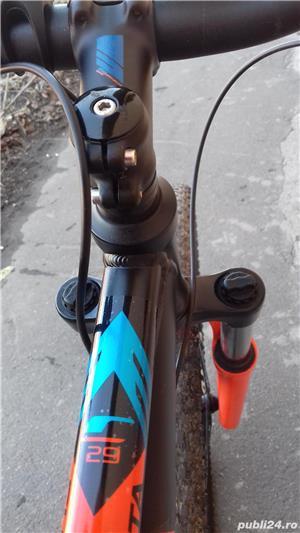 Mountain bike 29 Carrera Sulcata aluminiu 24 viteze alarma - imagine 10