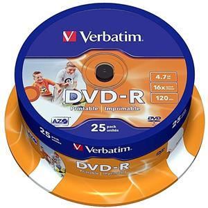 DVD-R Disck Blank Traxdata Printabil Glossy  4.7 GB  - imagine 3