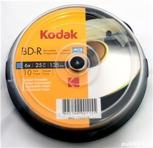 Blu-Ray Disck Blank KODAK Printabil 25GB 6X - imagine 1