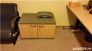 Set complet de mobila de birou (Birou reglabil, dulapuri, casetiera) - imagine 5