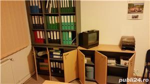 Set complet de mobila de birou (Birou reglabil, dulapuri, casetiera) - imagine 7