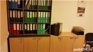 Set complet de mobila de birou (Birou reglabil, dulapuri, casetiera) - imagine 8