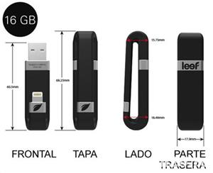 Memorie device-uri Apple ( stick USB ) - Leef iBridge OTG, 16GB, USB - imagine 4