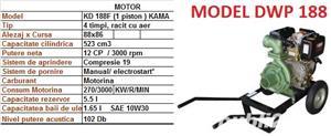 Motopompe Honda pe benzina Motopompa diesel motorina profesionala - imagine 6