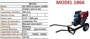 Motopompe Honda pe benzina Motopompa diesel motorina profesionala - imagine 5