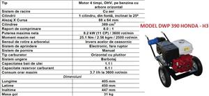 Motopompe Honda pe benzina Motopompa diesel motorina profesionala - imagine 4