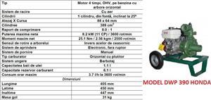 Motopompe Honda pe benzina Motopompa diesel motorina profesionala - imagine 2