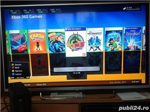 xbox 360 slim 250 gb, 48 jocuri ,kinect , GTA 5 , FIFA 18 , WW2K17 - imagine 5