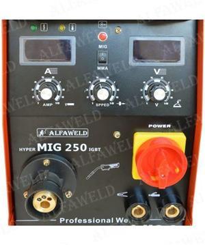 Aparat de sudura cu sarma MIG MAG, HyperMig 250A - imagine 1