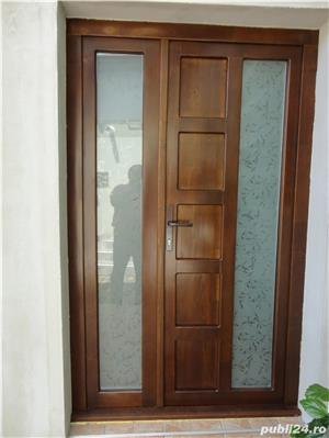 Usi de interior si exterior din lemn - imagine 5