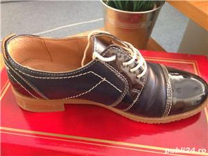 Vand pantofi piele dama - imagine 1