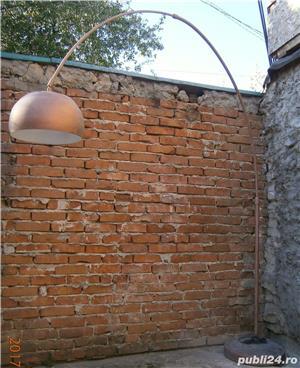 Lampadar cu picior reglabil si abajur metalic  (Lampa/Veioza/Corp iluminat)  - imagine 4
