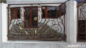 balustrade, porti, garduri fier forjat - imagine 9