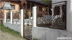 balustrade, porti, garduri fier forjat - imagine 8
