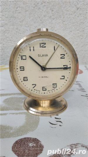 Ceas de masa SLAVA diverse modele, vintage USSR,URSS - imagine 3