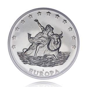 Medalie-moneda din aliaj 10 Euro, Europa 1997 gr.26,7 - imagine 2