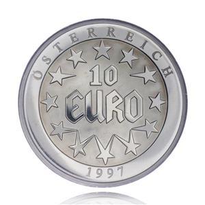 Medalie-moneda din aliaj 10 Euro, Europa 1997 gr.26,7 - imagine 1