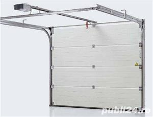 Comercializam usi de garaj sectionale pentru orice dimensiune a golului  - imagine 3
