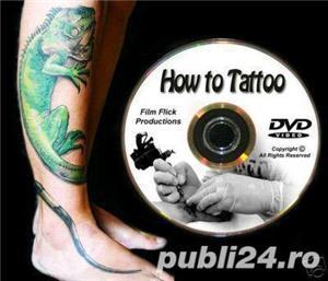Cursuri tatuaje video pe 9DVD- cum sa faci un tatuaj - imagine 2
