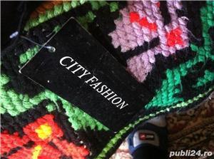Pantaloni de vara negri fini delux cityfashion - imagine 4