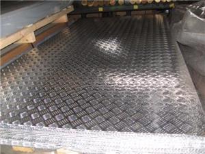 Tabla aluminiu striata model Quintett 5x1000x2000mm - imagine 2