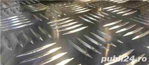 Tabla aluminiu striata model Quintett 5x1000x2000mm - imagine 3