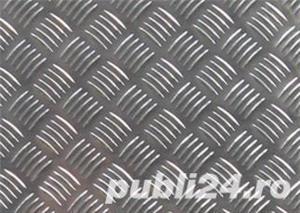 Tabla aluminiu striata model Quintett 5x1000x2000mm - imagine 5