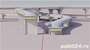 Desene AutoCAD, 2D, 3D, Animatii 3D, Servicii CAD pentru topografie, proiectare poduri - imagine 2