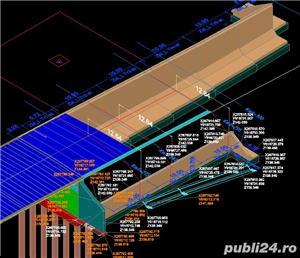 Desene AutoCAD, 2D, 3D, Animatii 3D, Servicii CAD pentru topografie, proiectare poduri - imagine 5