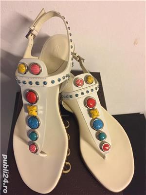 Sandale Gucci luxury,catwalk collection,produs original - imagine 1