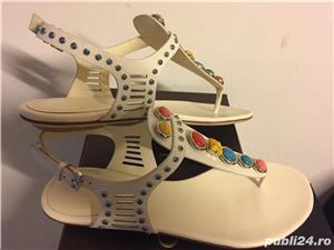 Sandale Gucci luxury,catwalk collection,produs original - imagine 4